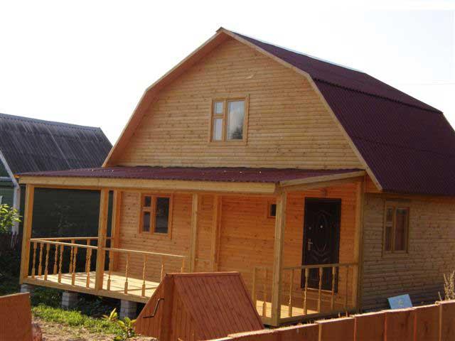 Пристрой к деревянному дому своими руками