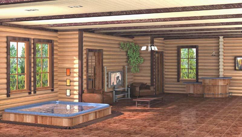Проекты дизайна деревянных домов