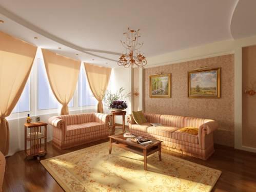 Интерьер гостиной в квартире интерьер