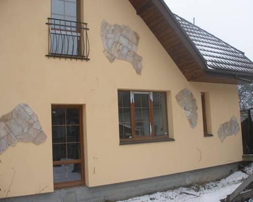Дизайн фасадов домов из кирпича фото